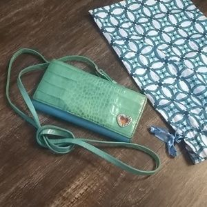 Brighton Vintage Crossbody Rare Wallet Bag